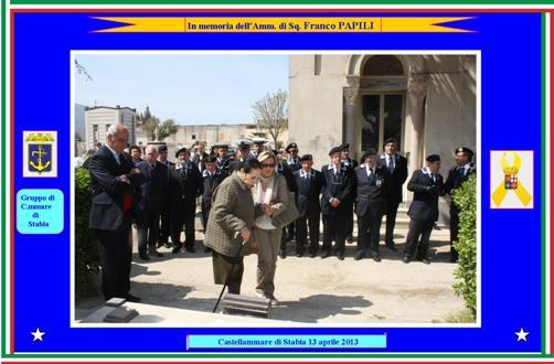 13.4.2013 ammiraglio Franco Papili - www.lavocedelmarinaio.com