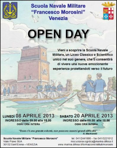 8-20 aprile 2013 Morosini Open day