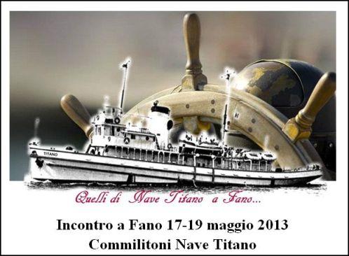 17-19.5.2013 incontro a Fano commilitoni Nave Titano - www.lavocedelmarinaio.com