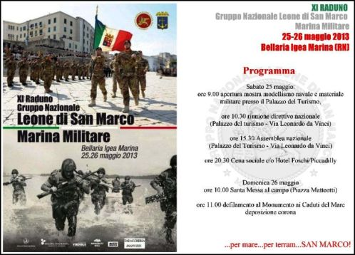 25-26.5.2013 - XI raduno leone san marco - www.lavocedelmarinaio.com