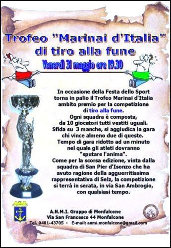 31.5.2013 Anmi Monfalcone - tiro alla fune - www.lavocedelmarinaio.com