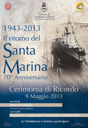 9.5.2013 il ritorno del santa marina - www.lavocedelmarinaio.com