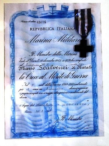 Croce al merito di guerra del marinaio Mario Scalvenzi (per gentile concessione a www.lavocedelmarinaio.com) - Copia