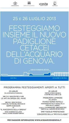 26.7.2013 acquario Genova - www.lavocedelmarinaio.com