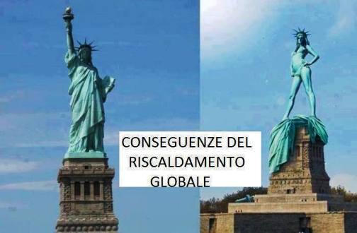 conseguenze del riscladamento globale