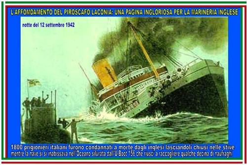 12 settembre 1942 Piroscafo Laconia - www.lavocedelmarinaio.com