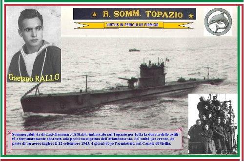 12.9.1943 Marinaio Gaetano Gallo - sommergibile Topazio - www.lavocedelmarinaio.com - Copia