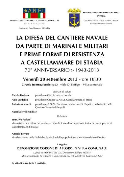 20.9.2013 la difesa del cantiere C. Stabia - www.lavocedelmarinaio.com