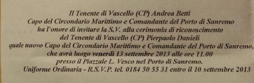 Capitaneria Sanremo 12.9.2013 - www.lavocedelmarinaio.com