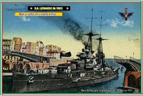 14.10.1911 R.N. DA VINCI www.lavocedelmarinaio.com