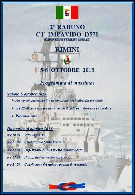 2°Raduno Equipaggi Impavido - Rimini 5-6.10.2013 - www.lavocedelmarinaio.com