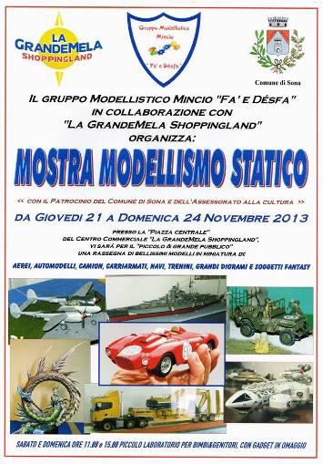 21-24.11.2013 Mostra modellismo statico a Sona