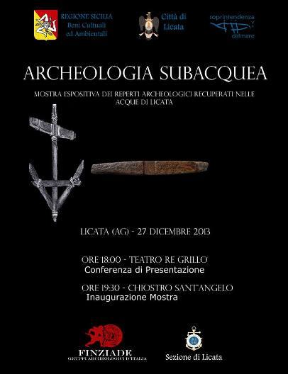 27.12.2013 a Licata - Archeologia Subacquea - www.lavocedelmarinaio.com