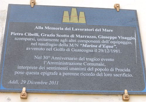 29.12.1981, naufragio della Motonave Marina d'Equa - www.lavocedelmarinaio.com