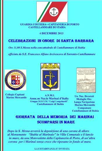 4.12.2013, Santa Barbara a Castellammare di Stabia - www.lavocedelmarinaio.com