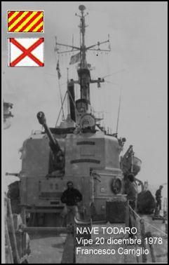 Nave Todaro vigilanza pesca 20.12.1978 (foto p.g.c. Francesco Carriglio a www.lavocedelmarinaio.com)