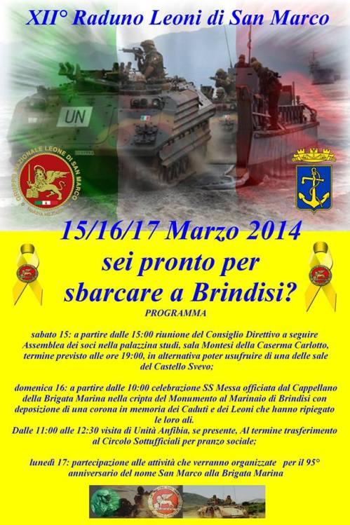 15-17.3.2014 a Brindisi - www.lavocedelmarinaio.com