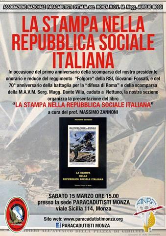15.3.2014 a Monza La stampa nella R.S.I.