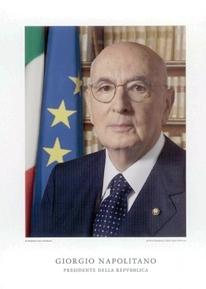 I Presidente della Repubblica Italiana Giorgio Napolitano