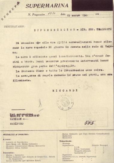 documento di supermarina