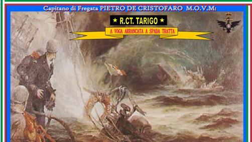 16 aprile 1941 Comandante Pietro De Cristofaro -www.lavocedelmarinaio.com