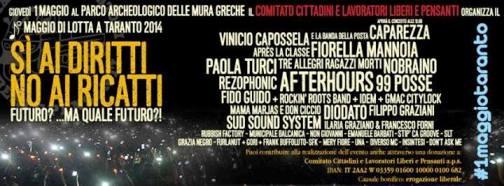 1° maggio 2014 a Taranto