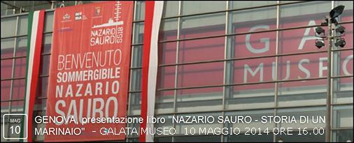 10.5.2014 a genova con Nazario Sauro - www.lavocedelmarinaio.com