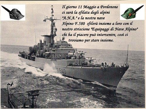 11.5.2014 a Pordenone con gli equipaggi di nave Alpino - www.lavocedelmarinaio.com