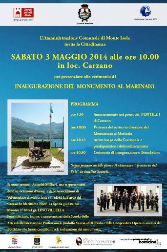 3.5.2014 a Monte Isola - www.lavocedelmarinaio.com