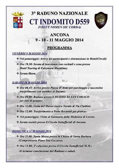 9-11.5.2014 3° raduno Indomito - www.lavocedelmarinaio.com