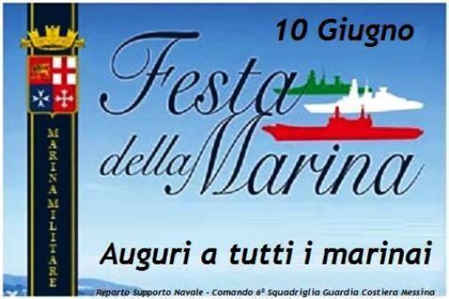 10.6.2014 Auguri Guardia costiera Messina a www.lavocedelmarinaio.com
