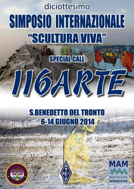 6-14 giugno 2014 a San Benedetto del Tronto - Siomposio internazionale scultura viva - www.lavocedelmarinaio.com