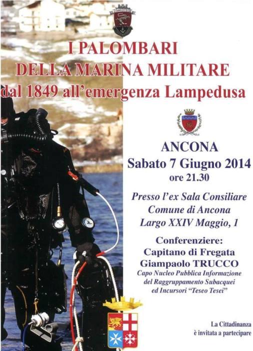 7.6.2014 ad Ancona - I palombari della Marina - www.lavocedelmarinaio.com