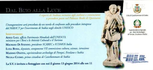 Dal buio alla luce - Castellammare di Stabia 13.6.2014 - www.lavocedelmarinaio.com