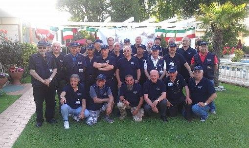I partecipanti al 4° raduno equipaggi nave Rizzo (Rimini giugno 2014) www.lavocedelmarinaio.com