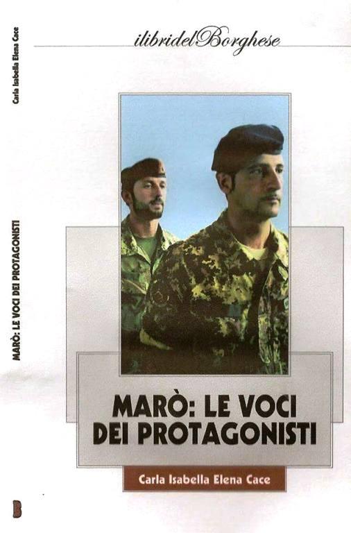 Marò Le voci dei protagonisti - copertina - www.lavocedelmarinaio.com