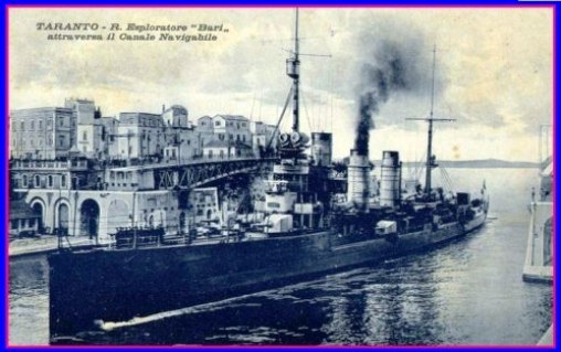 Regio esploratare Bari (affondato a Livorno il 28.6.1943) - www.lavocedelmarinaio.com