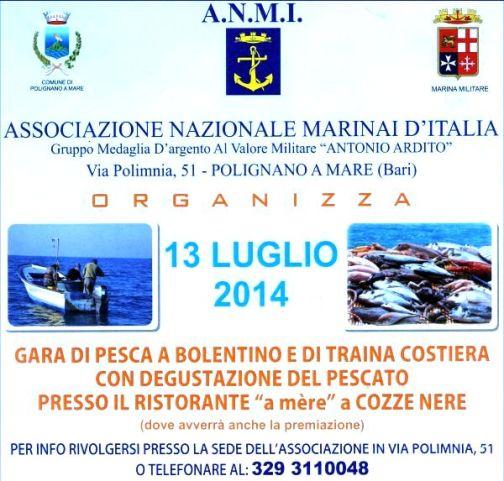 13.7.2014 a Polignano a Mare - ww.lavocedelmarinaio.com