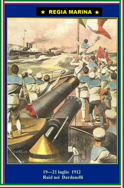19-21 luglio 1912 Raid nei Dardanelli - www.lavocedelmarinaio.com