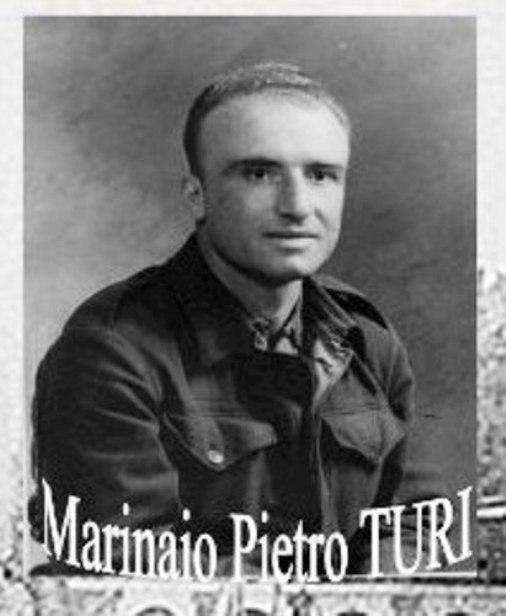19.7.1940 Marinaio Pietro Turi della regia nave Colleoni - www.lavocedelmrinaio.com