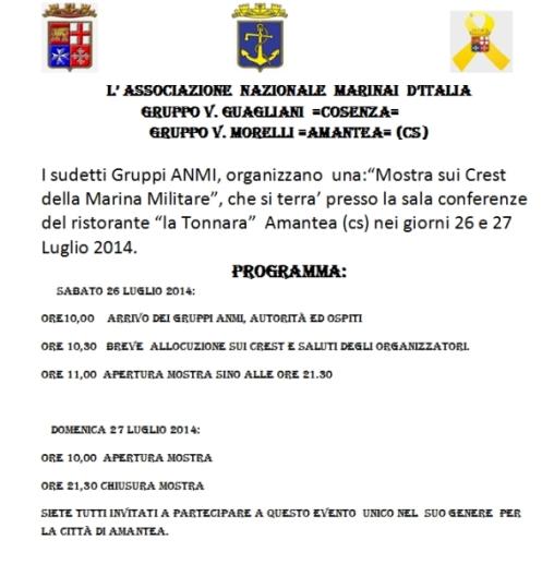 26-27.7.2014 ad Amantea - www.lavocedelmarinaio.com
