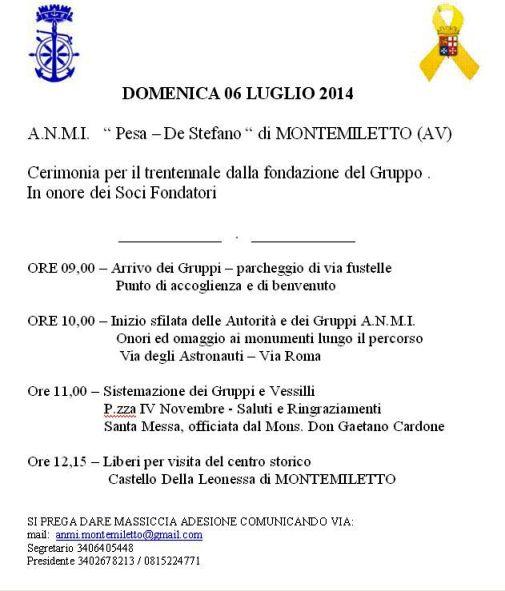 6.7.2014 a Montemiletto - www.lavocedelmarinaio.com