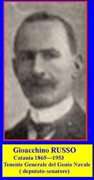 Gioacchino Russo (Catania 1865 - 1953) Tenente generale del Genio Navale - www.lavocedelmarinaio.com