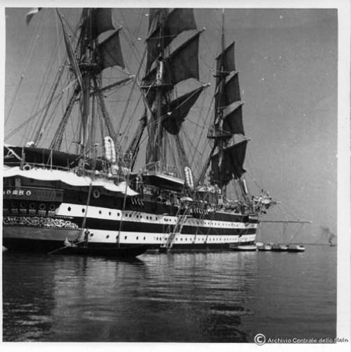 Nave Colombo a Venezia 1940- Foto Archivio centrale dello Stato