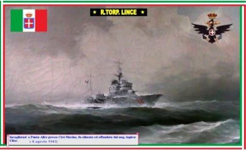 4.8.1943 NAVE LINCE - www.lavocedelmarinaio.com