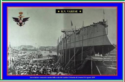 6.8.1899 varo regia nave Varese - www.lavocedelmarinaio.com