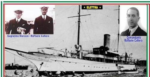 Marconi - Comandante Cafiero e Nave Elettra - www.lavocedelmarinaio.com