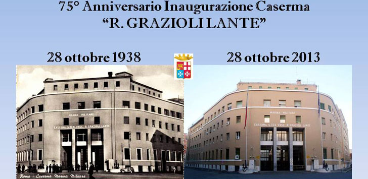 28.10.1938 inaugurazione della caserma Grazioli Lante a Roma