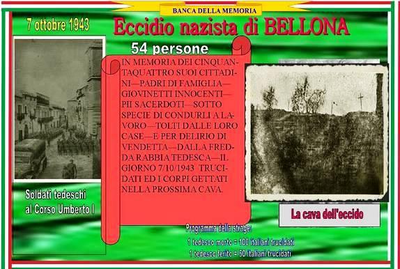 7.10.1943 Eccidio nazista di Belllona - www.lavocedelmarinaio.com