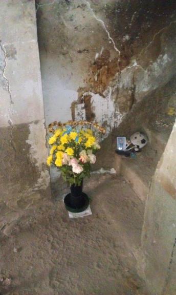 Qui era Simone Neri inerme dopo aver salvato otto persone- www.lavocedelmarinaio.com